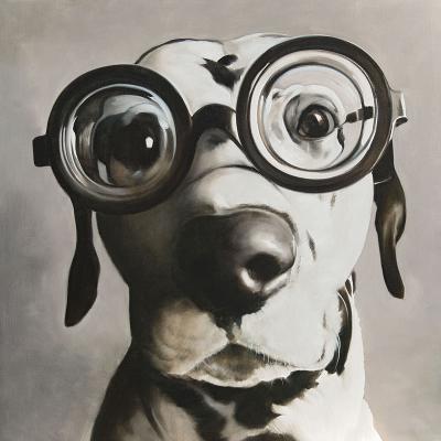 peinture de chien Dalmatien