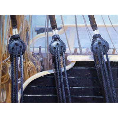 peinture sur toile 3 cordages Lookisfree