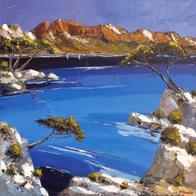 peinture baie de cassis - Fabien Novarino