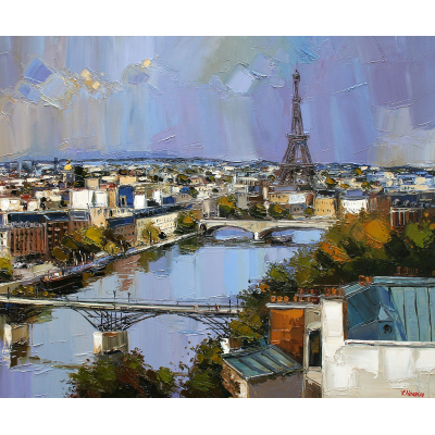 averse sur paris, art moderne