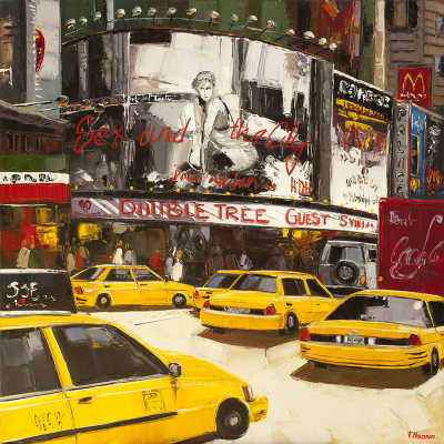 peinture de Broadway à New York