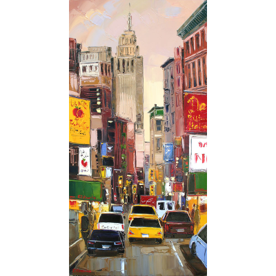 peinture little italy new york