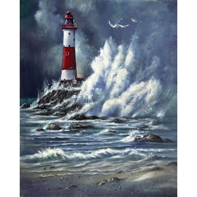 peinture de phare isolé